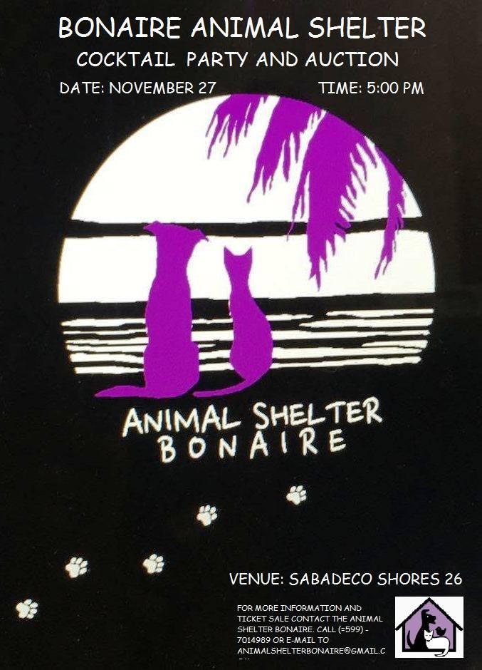 bonaire animal shelter auction